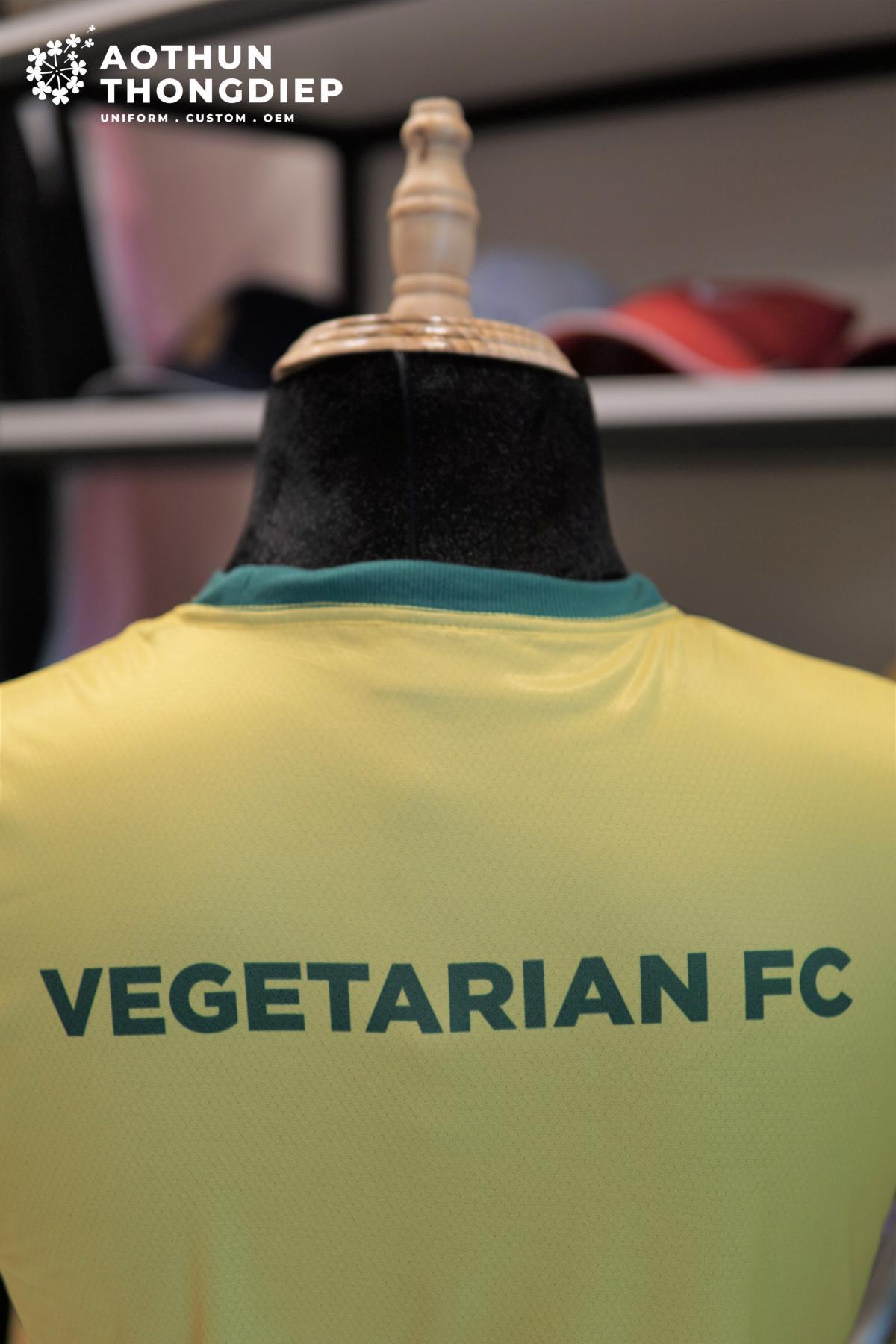 In áo thun đồng phục câu lạc bộ bóng đá Ăn chay FC #1