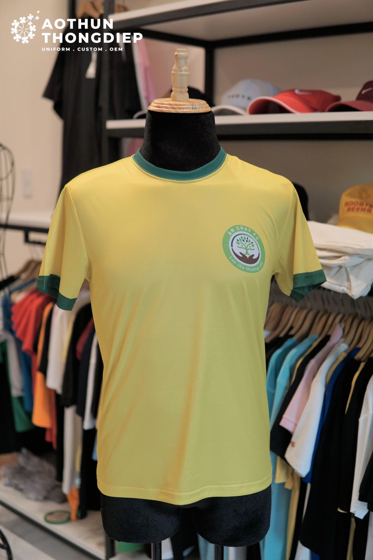In áo thun đồng phục câu lạc bộ bóng đá Ăn chay FC #2