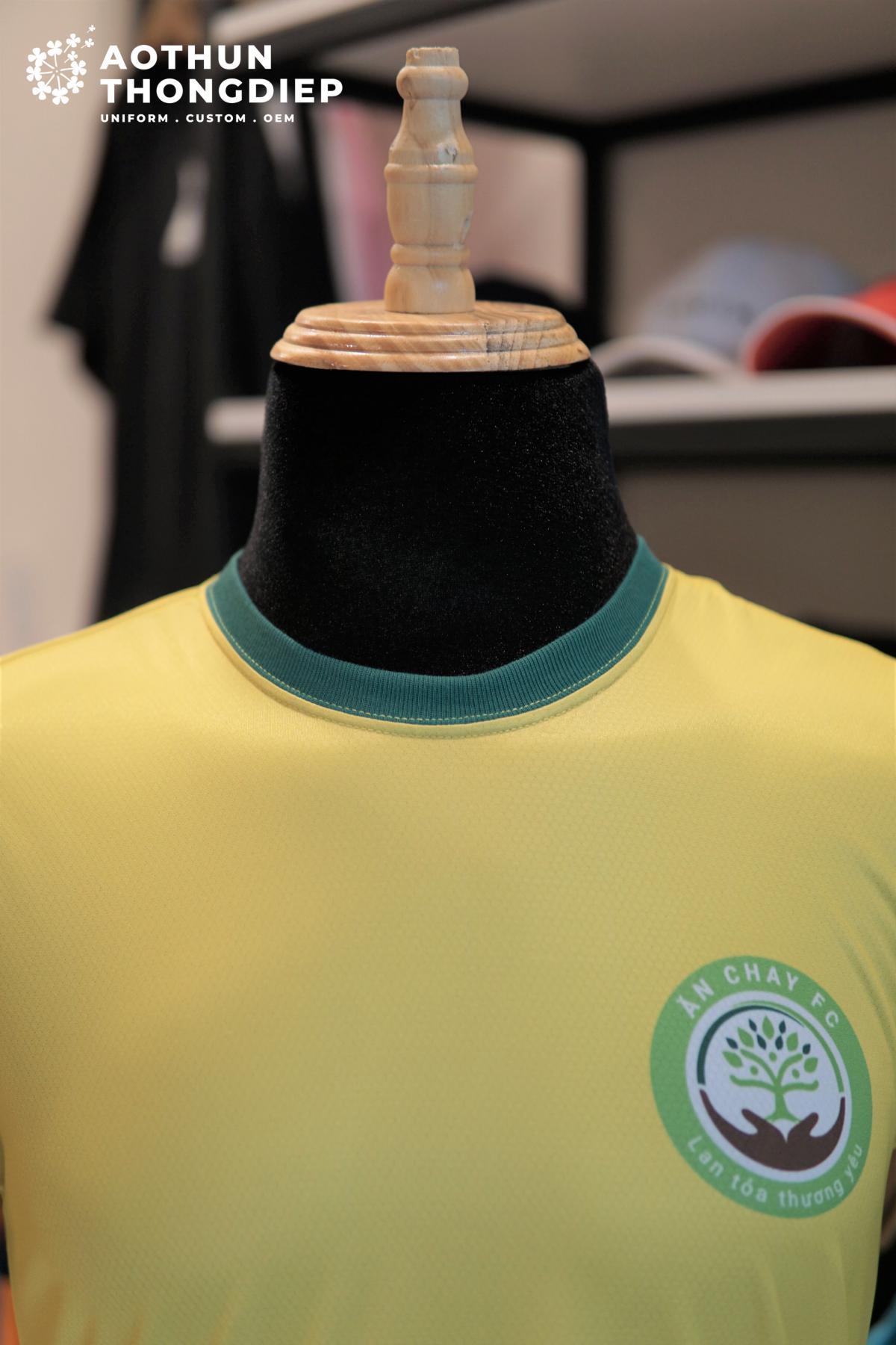 In áo thun đồng phục câu lạc bộ bóng đá Ăn chay FC #3