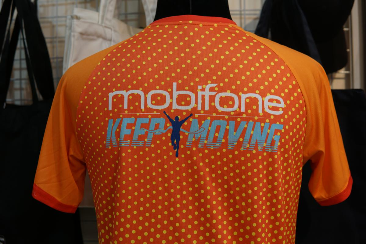 Đồng phục thể thao chạy bộ Mobifone - Keep moving #0