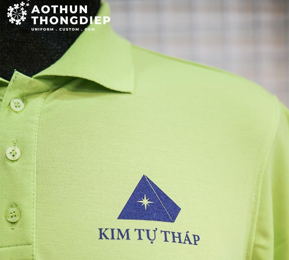 In áo thun đồng nghiệp doanh nghiệp KIM TỰ THÁP #3