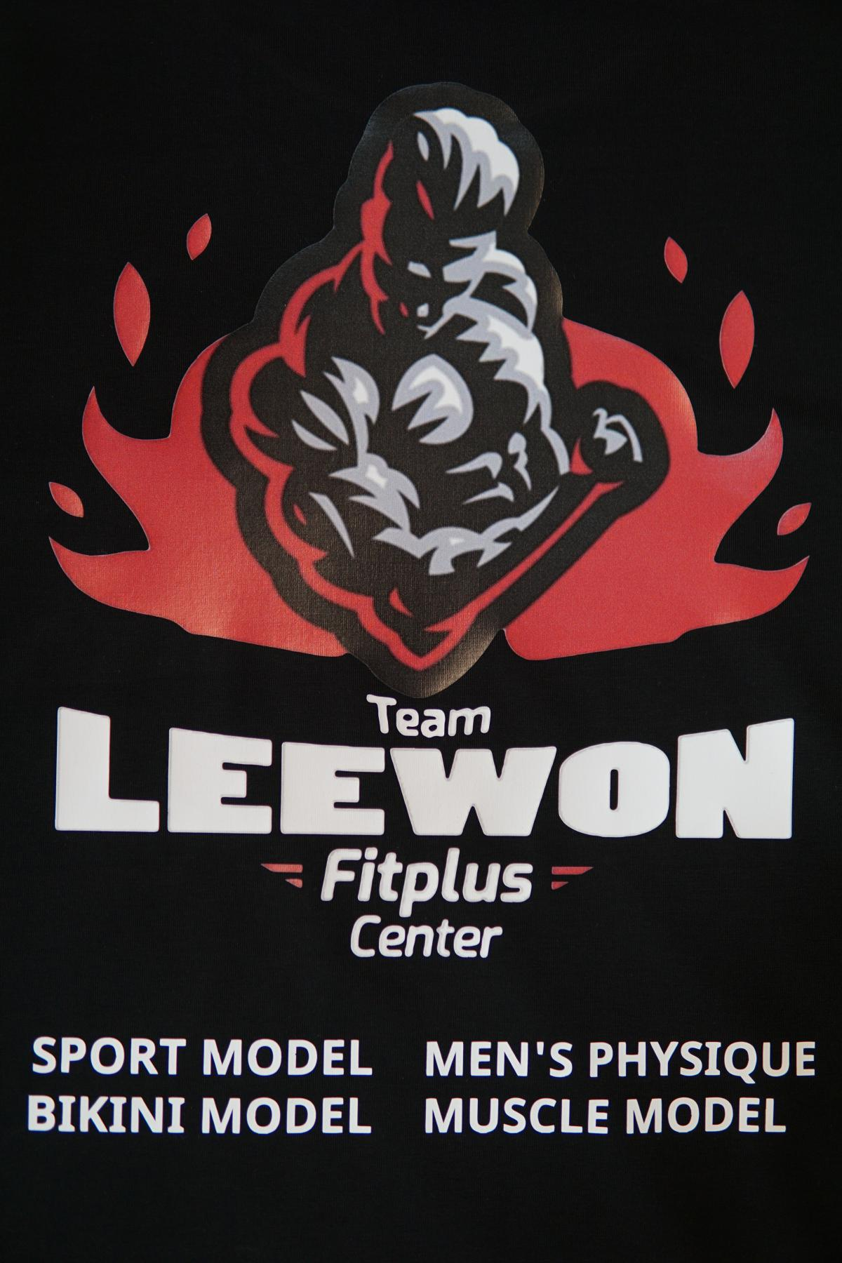 MAY IN ĐỒNG PHỤC TEAM LEEWON - FITPLUS CENTER #2
