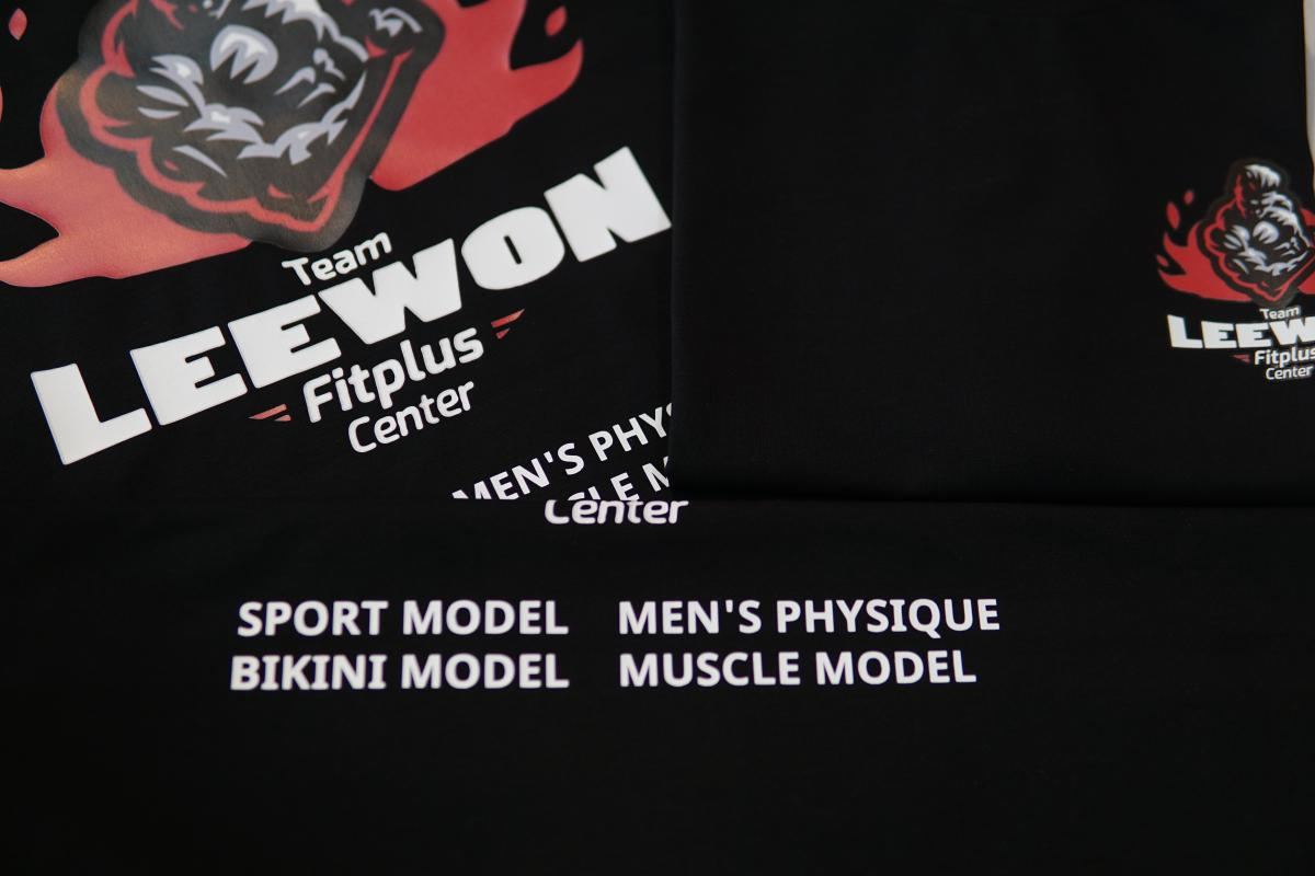 MAY IN ĐỒNG PHỤC TEAM LEEWON - FITPLUS CENTER #8