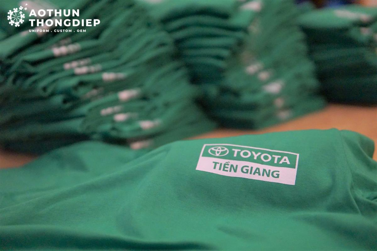 Đồng phục công ty Toyota Viet Nam #1
