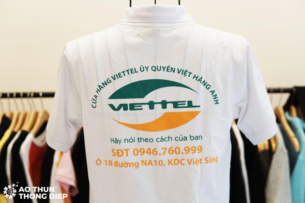 Đồng phục công ty Viettel ủy quyền Việt Hằng Anh  #1