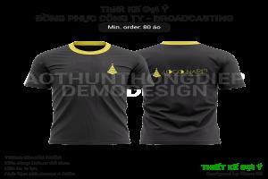 Thiết kế gợi ý đồng phục công ty truyền thông 2020