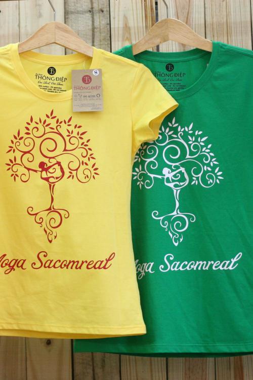 Đồng phục Sacombank - Sacomreal Yoga