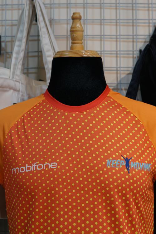 Đồng phục thể thao chạy bộ Mobifone - Keep moving